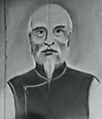 Hung Kyun Grand Master Lam Fuk Sing - picture form an old movie