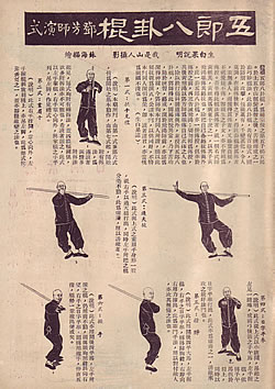 Ng Long's Eight Trigrams Long Pole (Ng Long Baat Gwa Gwan)