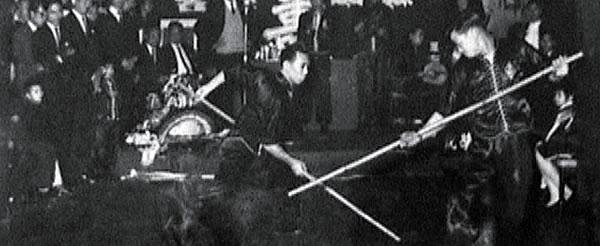 """Ng Long's Eight Trigram Long Pole Sparring Set"" (Ng Long Baat Gwa Gwan Deui Chaak)"