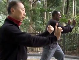 "Grand Master Lam Chun Fai Performs ""Iron Thread Set"" (Tit Sin Kyun)"