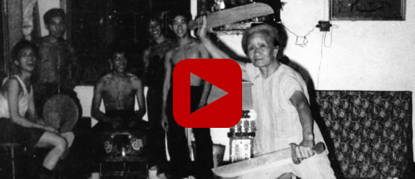 "The ""Tigress"" Mok Gwai Laan, Wife of Wong Fei Hung [Rare Video]"
