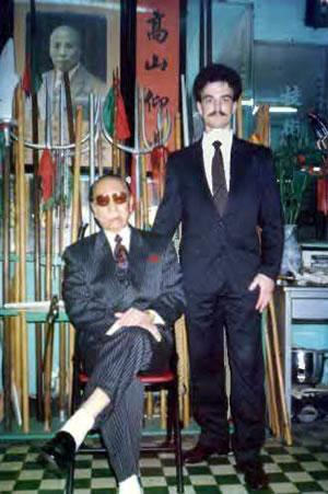 Michael Goodwin Sifu & Grand Master Lam Cho