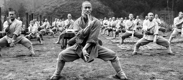 Shaolin training