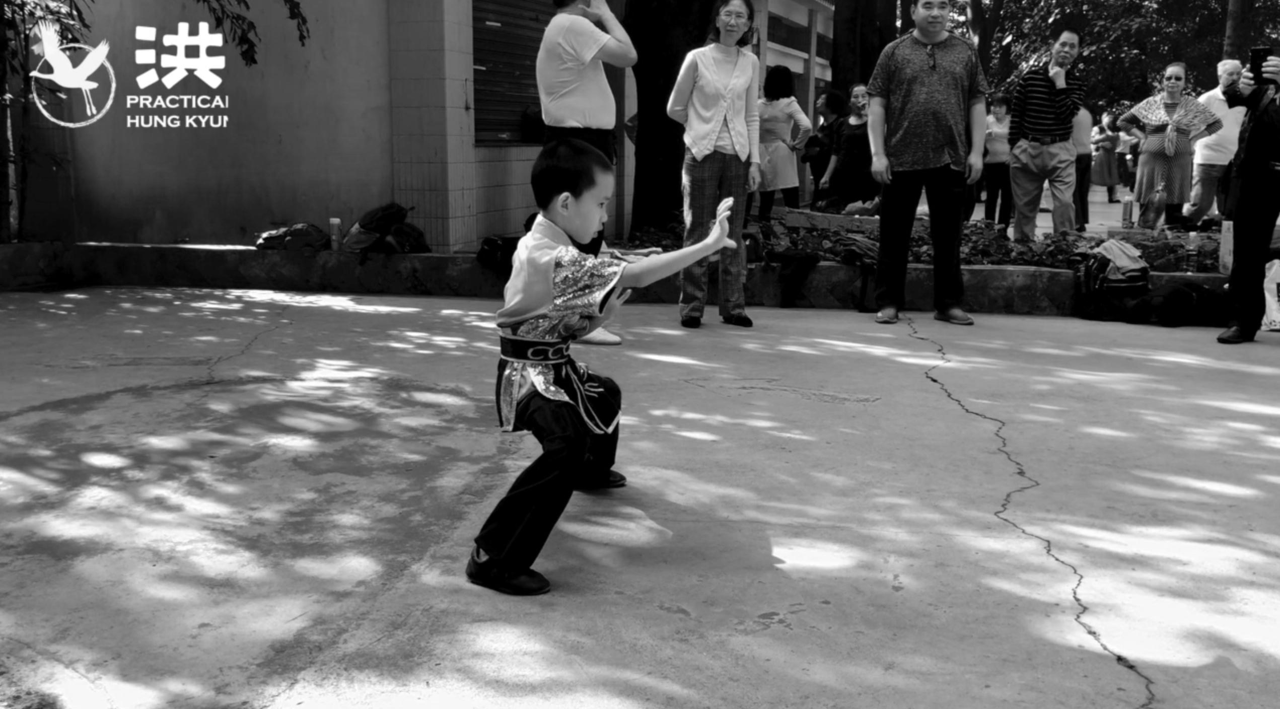 "Dang Family Hung Kyun 鄧家洪拳: ""Smashing and Hitting Set"" (Jong Da Kyun 撞打拳)   Practical Hung Kyun"