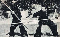 """Practical Hung Kyun 4th Kap - """"Traveller Monk's Staff"""" (Hang Je Paang)"""