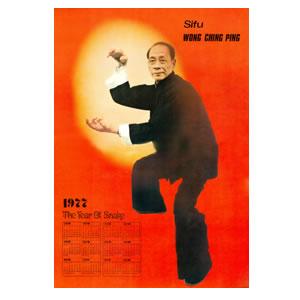 "Wong Ching Ping Sifu - ""Snake Form"" Picture"