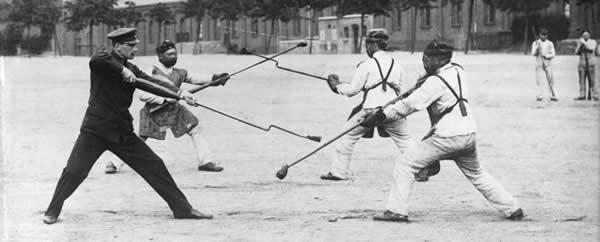 Bayonet Attack Training