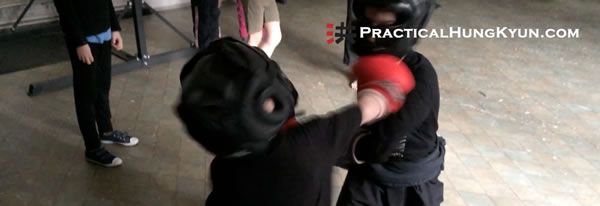 Practical Hung Kyun Kids: Free Fighting (Saan Da)