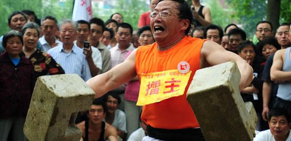 "Stone Locks"" (Chinese Kettlebells)"