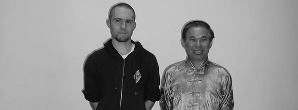 Pavel Macek Sifu and Wong Kiew Kit Sifu