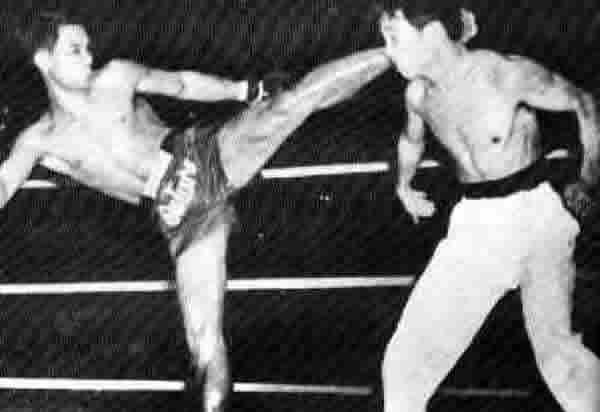 Kungfu vs. Thai boxing