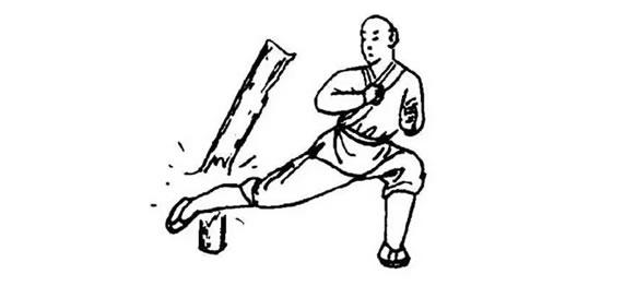 """Iron Broom Sweeping Kick"""